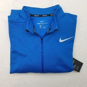 Nike Golf Aeroreact Blue Pull Over XL